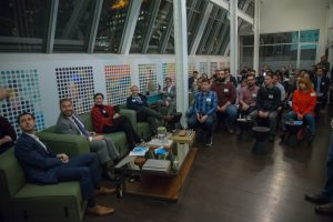 VentureOut New Media February 2018 Pitch Night - Audience