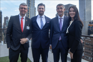 Czech Prime Minister visit - with the VentureOut team